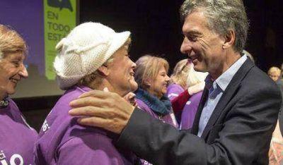 Macri participó de un encuentro con adultos mayores