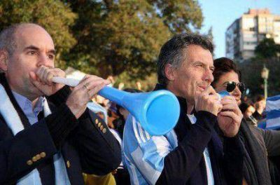 Macri y Larreta viajan al Mundial de Brasil