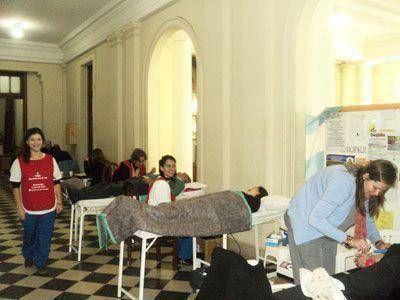 Se realizó en la Municipalidad de Bragado la anunciada colecta de sangre