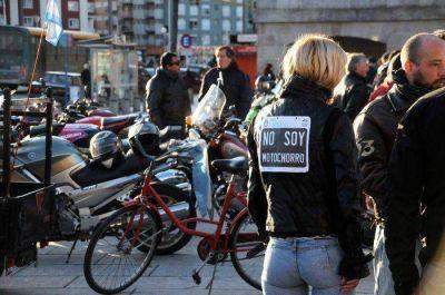 Motoristas en contra de la obligatoriedad del chaleco