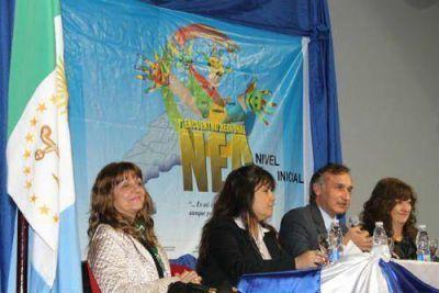 Educación realizó el primer Encuentro Regional NEA de nivel Inicial en Sáenz Peña