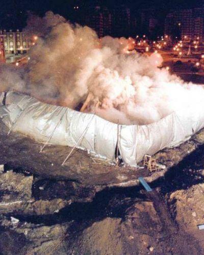 """""""Hace quince años estábamos demoliendo los primeros edificios de la manzana 115"""""""