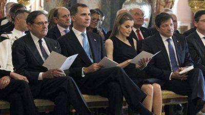 Todo listo para la coronación de Felipe como Rey de España
