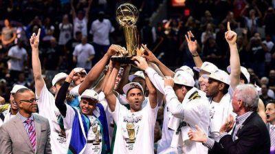 San Antonio le ganó a Miami y se consagró campeón de la NBA