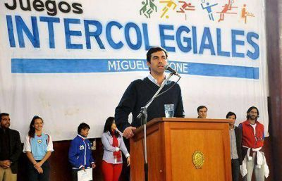 El gobernador Urtubey inauguró los juegos intercolegiales Miguel Ragone 2014