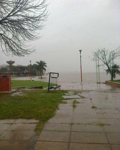 El Intendente del Paso pedirá a Nación por la defensa en arroyo Guajó