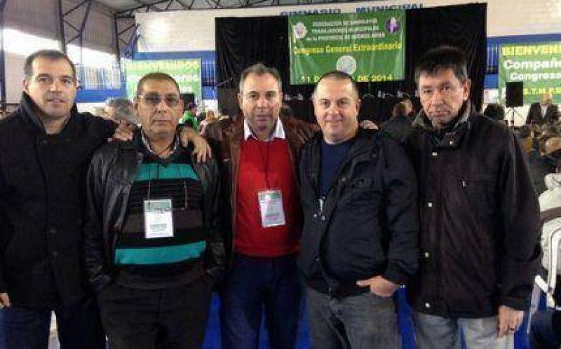 El marplatense Marcelo Cardoso fue electo Secretario de Organización de la Federación de Municipales