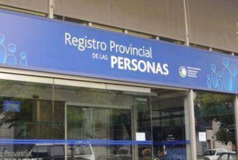 Retención de tareas en el Registro de las Personas