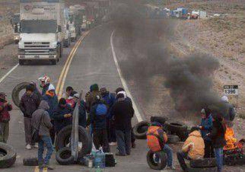 Desocupados volvieron a cortar la ruta en Zapala