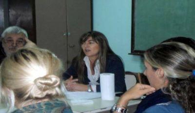 Mesa Distrital de Educación y Trabajo: reunión en la Escuela de Educación Especial N° 501