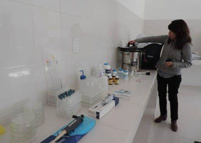 Se completó el Laboratorio de Bromatología