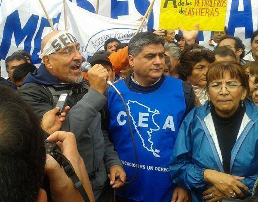 El Frente Estatal movilizó a Plaza Belgrano