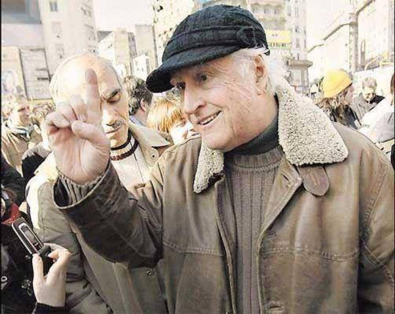 """Fernando Solanas (Proyecto Sur): """"El modelo de Kirchner fracasó"""""""