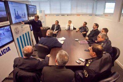 Pulti presentó el primer informe del Centro de Análisis Estratégico del Delito