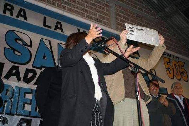 """""""El Frente para la Victoria muestra con orgullo su boleta"""", dijo el gobernador Barrionuevo"""