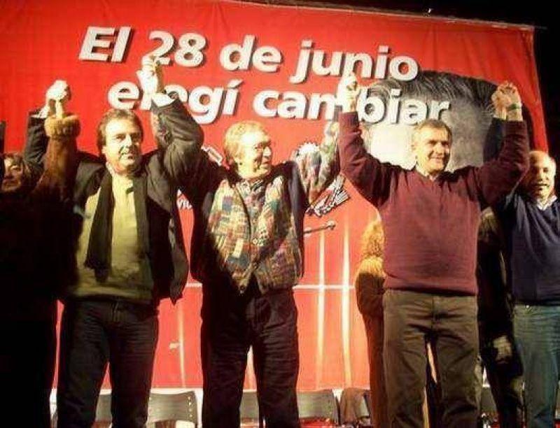 """""""Nuestra bandera es Ra�l Alfons�n"""" dijo el senador Gerardo Morales"""