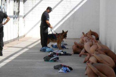 Trascendieron fotografías de trato inhumano en la penitenciaría de San Luis