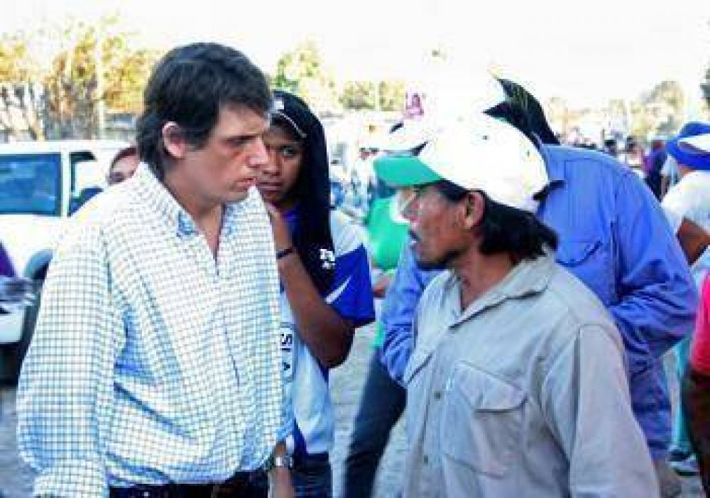Justicia trabaja en San Ramón de la Orán