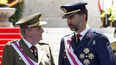 Españoles en Buenos Aires, contra la coronación de Felipe VI