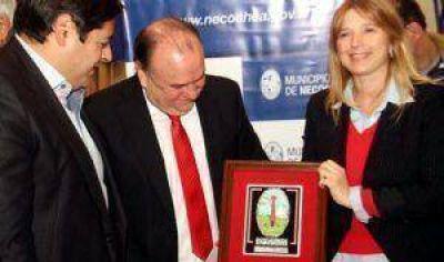 Alvarez Rodríguez resaltó ayer el apoyo a la gestión municipal