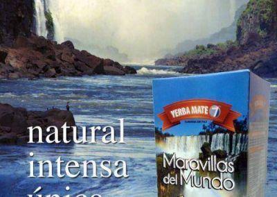 Maravillas del Mundo, la yerba Premium que te lleva a las Cataratas del Iguazú