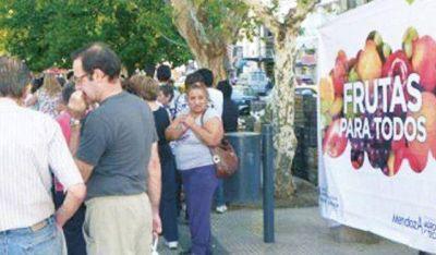 El programa Frutas y Verduras para todos aterriza hoy en Angaco