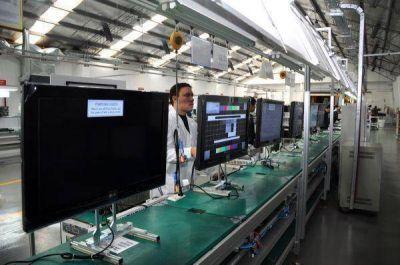 La producci�n de televisores en Tierra del Fuego creci� un 35%