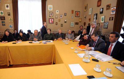 Con observaciones del kirchnerismo, Aparicio y Collia fueron a dar explicaciones a Diputados