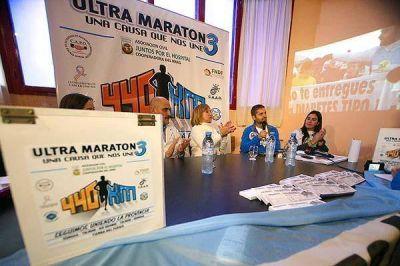 Sciurano encara nueva ultra maratón para comprar un mamógrafo
