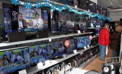 Por el Mundial se vendieron un 40% más de TV LED