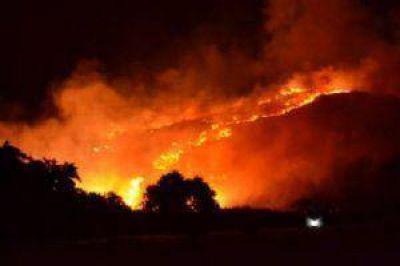 Provincia quiere cámaras en las sierras para combatir el fuego