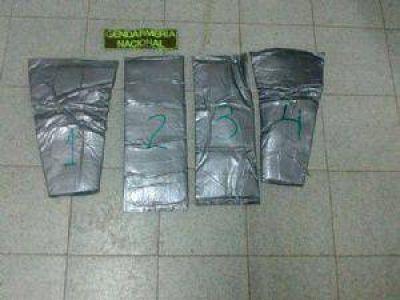 Salta: Detuvieron a una mujer con más de un kilo de cocaína adherido al cuerpo