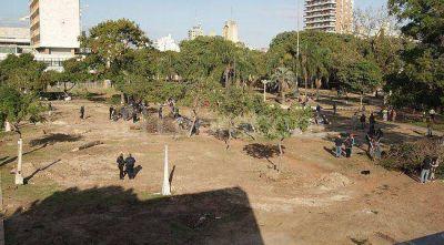 Parque Alberdi: radiografía de la obra de cocheras subterráneas