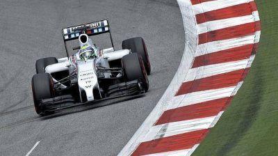 Fórmula 1: Massa dio la sorpresa y largará adelante en Austria