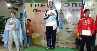 Crismanich logró una medalla de oro