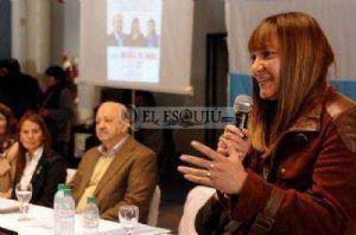 """Miriam Juárez: """"son cargos políticos, hay que estar consciente de eso """""""