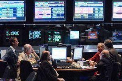 Fuerte alza en la Bolsa: Merval trep� 8,7%; cupones 16% y bonos 13%