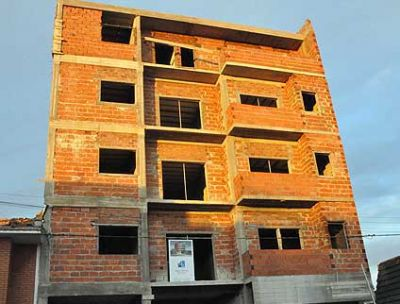 La actividad inmobiliaria cayó 29 por ciento en la región