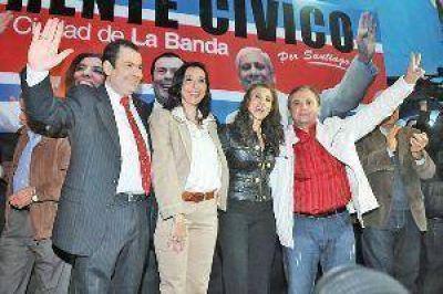En un multitudinario acto el FC presentó candidatos en La Banda