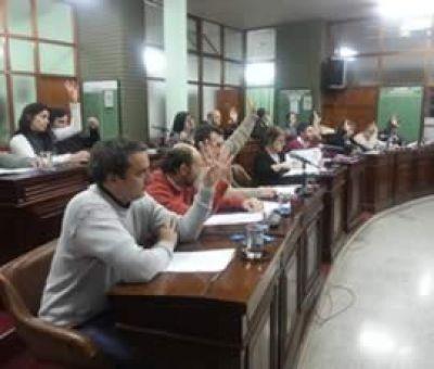 El Concejo aprobó el aumento de tasas