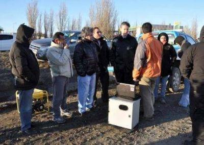 Se realiz� Prueba piloto para la puesta en marcha de la fotomulta en R�o Gallegos