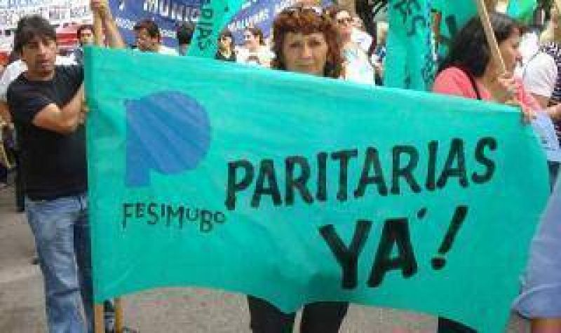 Municipales bonaerenses marchan otra vez por paritarias