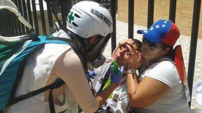Represión en Venezuela: al menos 20 heridos por disparos de perdigones contra estudiantes
