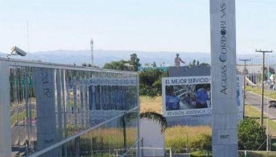 Multa récord a Aguas Cordobesas por $ 3 millones