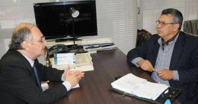 Bacileff Ivanoff recibió al intendente Vega para avanzar en la concreción de obras en Machagai