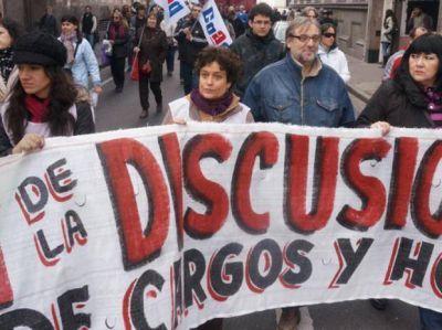 El paro de Amsafé Rosario se sintió poco en las escuelas