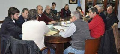 El Gobierno Local se reunió con productores rurales