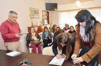 Aportes por 35 mil pesos para escuelas rurales