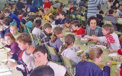 Polémica por la situación de los comedores escolares en la región