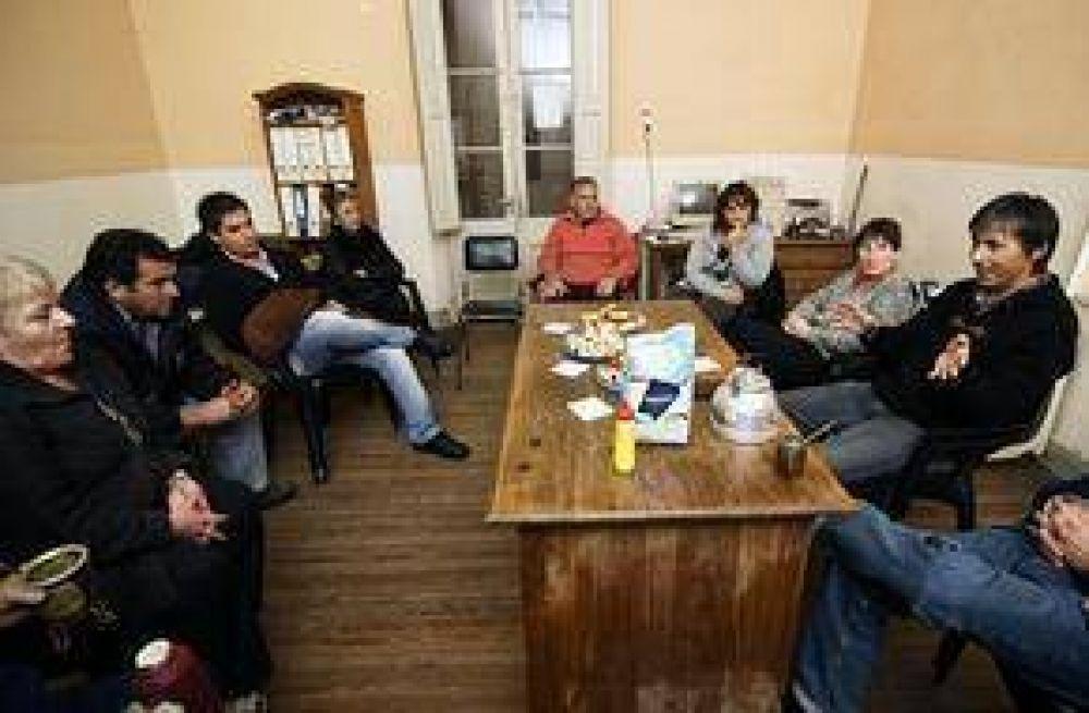 Encuentro con delegados sindicales